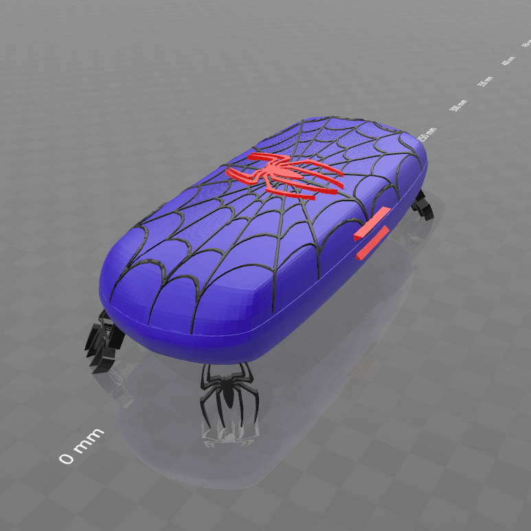 "7.png Download free STL file ""Spider-box""-Psl • 3D print design, psl"