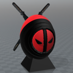 Download free STL files deadpool egg, psl