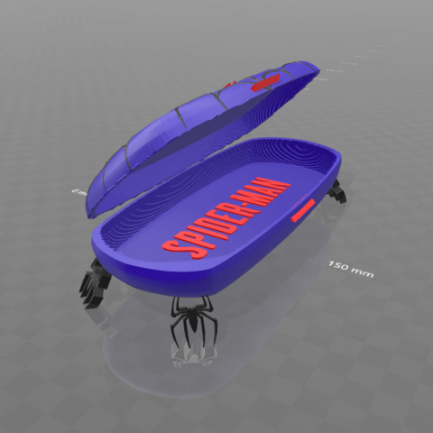 "1.png Download free STL file ""Spider-box""-Psl • 3D print design, psl"