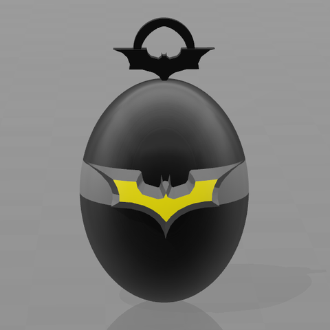 1.png Download free STL file Batman key ring • 3D print model, psl