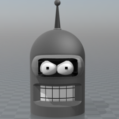 Download free 3D printer files Bender head, psl