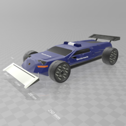 Download free 3D printing designs Concept car evo Gendarmerie, psl