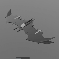 2.png Download free STL file Batman fly • 3D printable object, psl