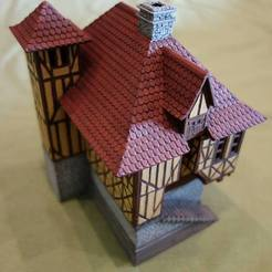 3D print model Normandy style house, 3decors