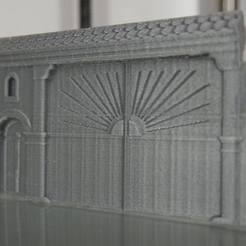 3D printer files Alsacian Farm Portal, 3decors