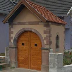3D printing model small alsatian chapel, 3decors