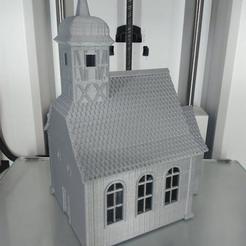 Archivos 3D pequeña Iglesia, 3decors