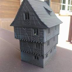 3D print files House of the Eclusier, 3decors