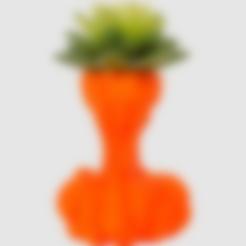 Rocket_Fire_Planter.stl Download free STL file Rocket Fire Planter • 3D printer object, LetsCreate3D
