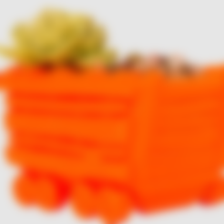 Archivos STL gratis Sembradora de vagones, LetsCreate3D