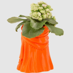 Free 3d printer designs Dress Planter, LetsCreate3D