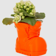 Free 3d printer model Boot Planter, LetsCreate3D