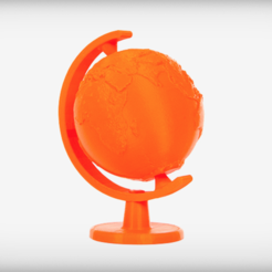 Free STL Globe, LetsCreate3D