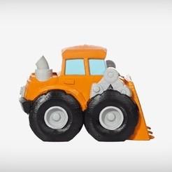Diseños 3D gratis Scooper robusto, TerryCraft