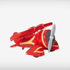 Free 3D printer model The Monoplane, TerryCraft