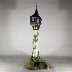 1.jpg Download STL file PRINCESS TOWER • 3D printable design, echo-creation