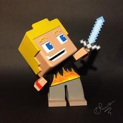 STL file Minecraft, echo-creation