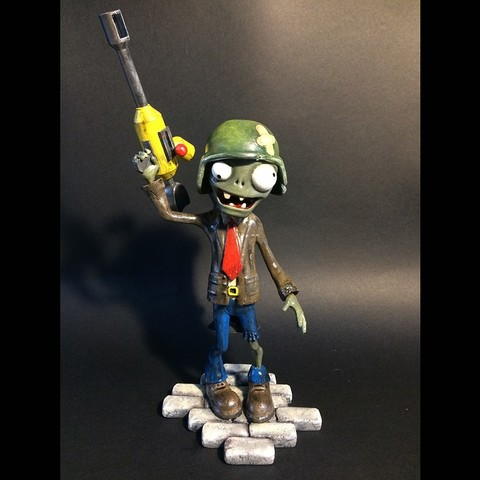 3D printer models zombie figurine, echo-creation