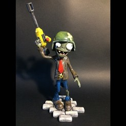 3D printer models zombie figurine, cperso