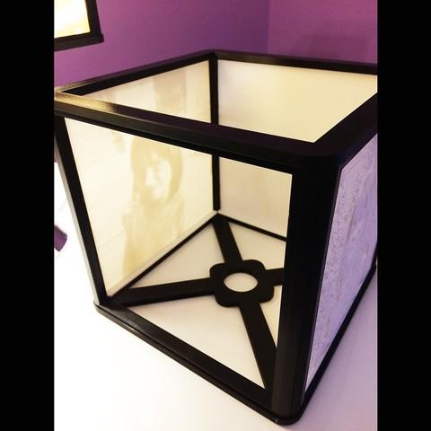 02.jpg Download free STL file lithophane lampshade • 3D printable model, echo-creation