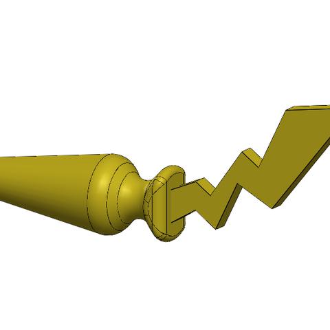 Download 3D printing templates Butt plug / Plug anal Pokemon pikachu, secure3D