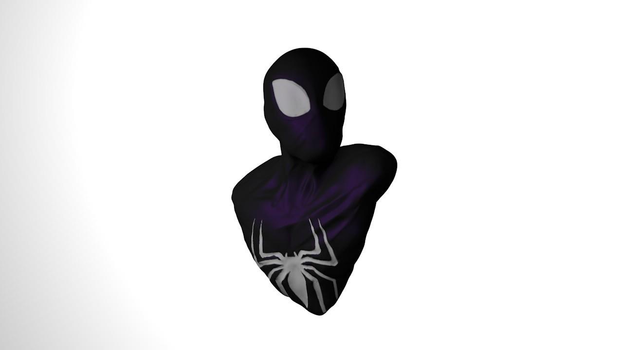 1.jpg Download STL file black suit Spiderman bust • 3D print object, ColtonJamesBallow