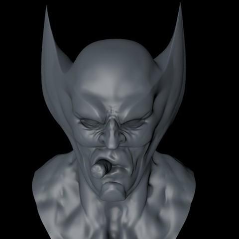 Plan imprimante 3D Buste de carcajou, ColtonJamesBallow