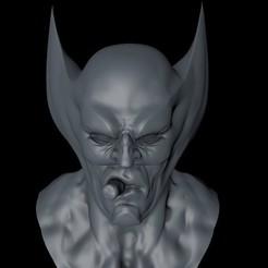 diseños 3d Busto de Lobezno, ColtonJamesBallow