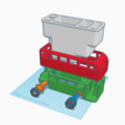 MontageBus.PNG Download free STL file London Bus Doubledeck Routemaster desk organizer (Boite à crayon bus anglais) • 3D printing object, Martymcflay