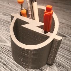 Impresiones 3D gratis Portabolígrafos Opel Blitz Caja de lápices Opel Blitz, Martymcflay