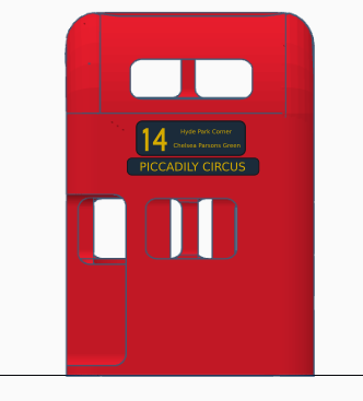 FOR-COLOR-PAPER-PRINT-BACK.png Download free STL file London Bus Doubledeck Routemaster desk organizer (Boite à crayon bus anglais) • 3D printing object, Martymcflay