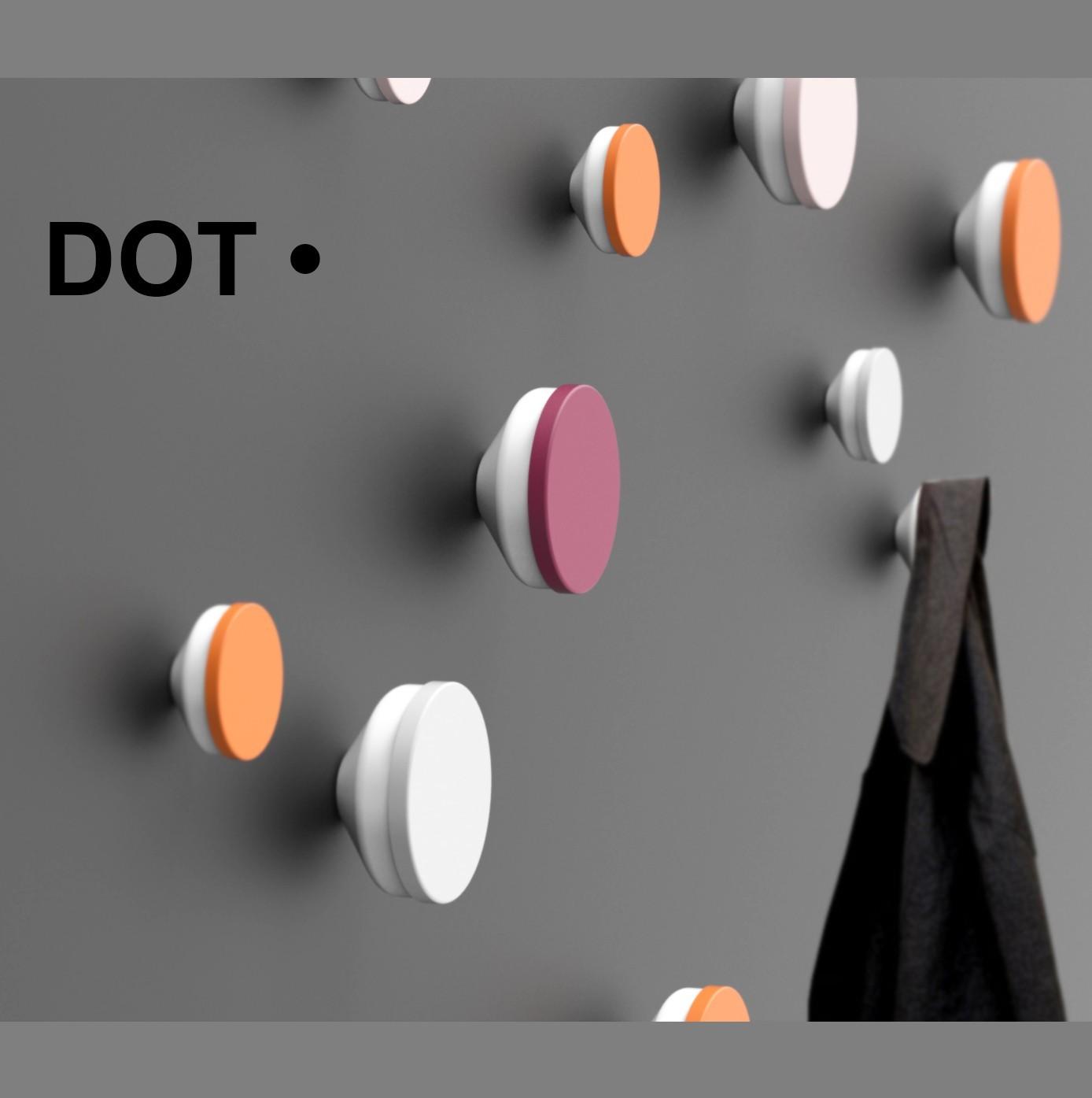 patères.dot.jpg Télécharger fichier STL gratuit DOT • • Plan à imprimer en 3D, Mouche
