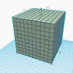 Download free 3D printer designs Numbering, the cube of 1000, virgulle