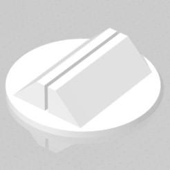 Descargar diseños 3D gratis Base para peón de papel 2.0, virgulle