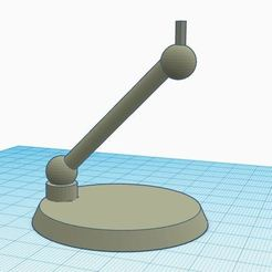 Télécharger modèle 3D gratuit Socle pour vaisseaux star wars (x-wing et tie fighter), virgulle