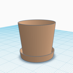 Free 3d print files Plant Pot/Plant Pot Saucer, Lisu_001
