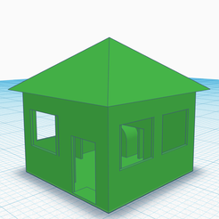 Free 3d printer files House, Lisu_001