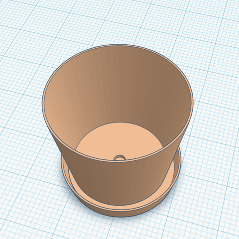 Screenshot (31).png Download free STL file Plant Pot/Plant Pot Saucer • 3D print template, Lisu_001