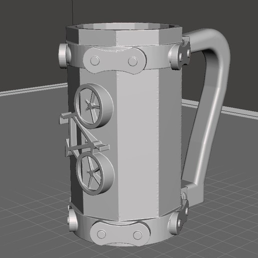 Download free STL file Bike beer mug • 3D printer design, CMPereira
