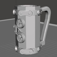 Download free STL file Bike beer mug • 3D printer design, CMPereira