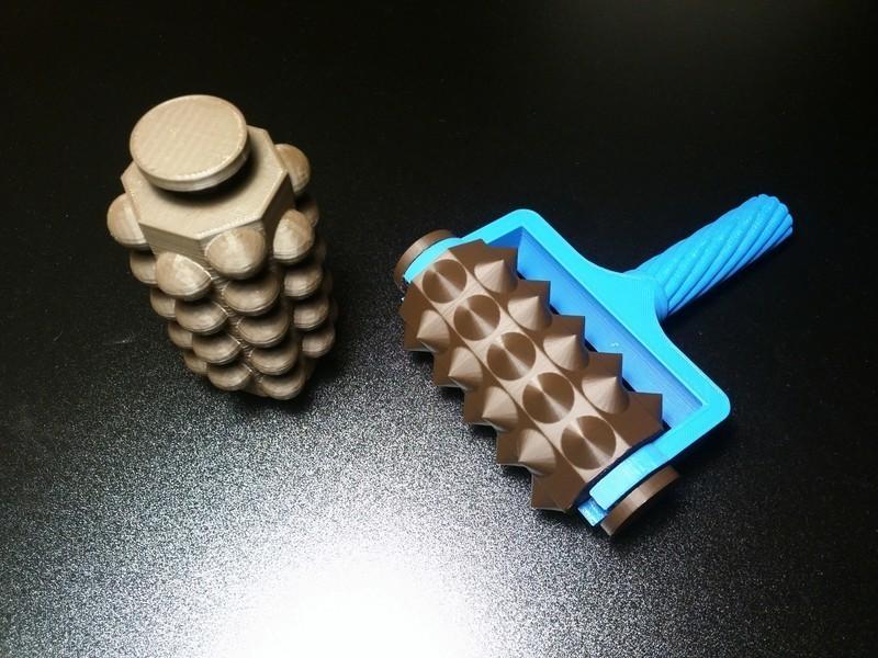 masazer.jpg Télécharger fichier STL gratuit Outil de massage (+ v2) • Plan à imprimer en 3D, kpawel
