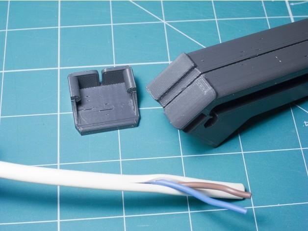 2a96cc2fc6243744cf4c4b464a9cec31_preview_featured.jpg Télécharger fichier STL gratuit Couteau à câble plat • Design pour imprimante 3D, kpawel