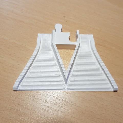 Télécharger objet 3D gratuit LEGO Duplo voie ferrée : rampe d'accès, kpawel