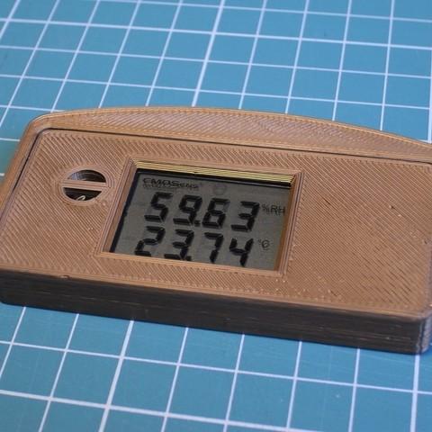 SHT31a.JPG Télécharger fichier STL gratuit Housse Sensirion SHT31 • Design pour impression 3D, kpawel