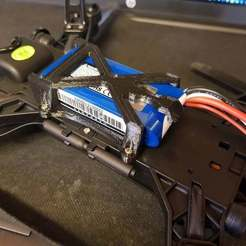 Download free 3D printer files MJX Bugs 6 - battery holder, kpawel