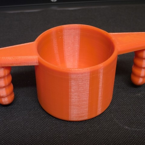 Free 3D printer files Baby cup v2 (larger), kpawel