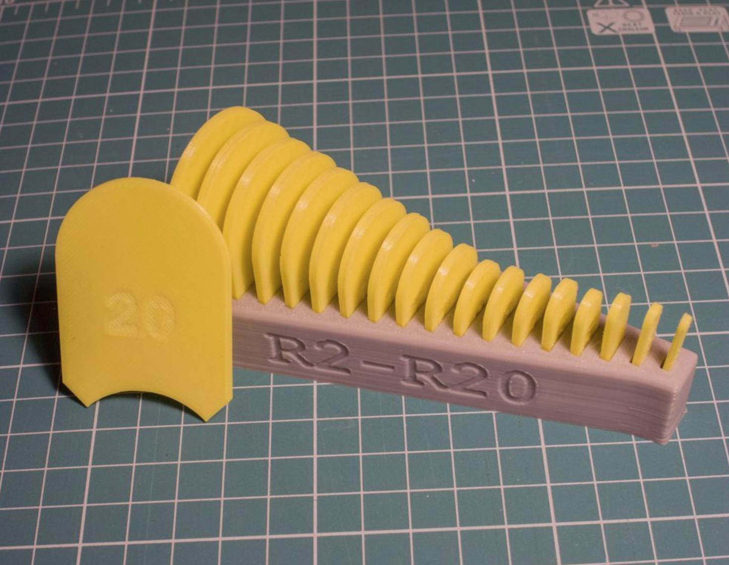 Capture d'écran 2017-09-14 à 10.52.28.png Download free STL file Radius measuring toolset • Design to 3D print, kpawel