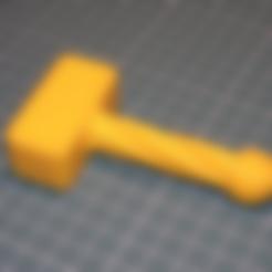 Objet 3D gratuit Jouet pour bébé - marteau, kpawel