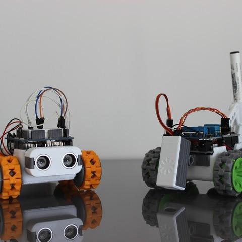 IMG_2584.JPG Download free STL file SMARS modular Robot • 3D printable design, Tuitxy