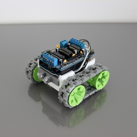 eU7nf1ElT%SwQrQ6uK7SFA_thumb_480.jpg Download free STL file SMARS modular Robot • 3D printable design, Tuitxy
